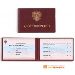 Удостоверение госслужащего
