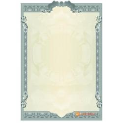 № 1401 бланк с вырезами салатового цвета