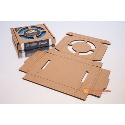 Лазерная резка картона коробок