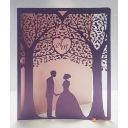 Пригласительное на свадьбу арт. L127