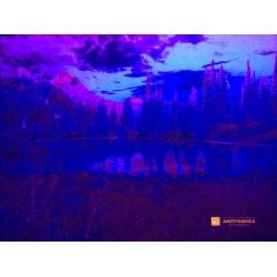 Печать невидимыми флуоресцентными красками изображения