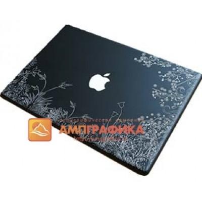Гравировка пластика на ноутбуках