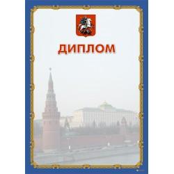 Диплом поздравительный  с логотипом арт. 564