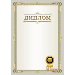 Диплом поздравительный с декоративной печатью арт. 579