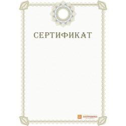Сертификат для учреждения арт. 1137