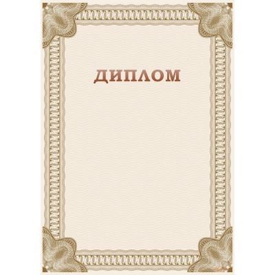 Диплом праздничный арт. 507