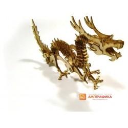3д пазл - Дракон