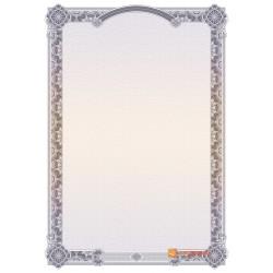 № 1455 бланк чернильного цвета с аркой