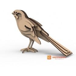 3д пазл - Птица