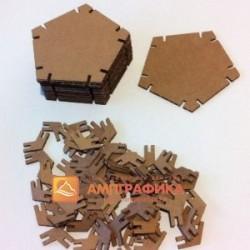 Лазерная резка картона для моделей