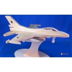 3д пазл - Самолет №2