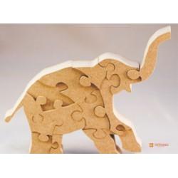 3д пазл - Слон