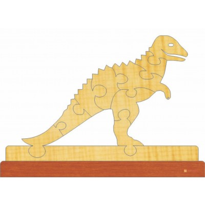 3д пазл - Динозавр