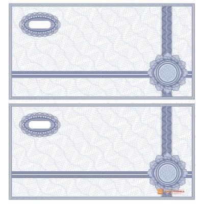 № 1017 бланк банкноты