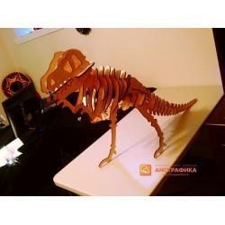 3д пазл - Тиранозавр