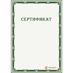 Сертификат с рамкой арт. 1133